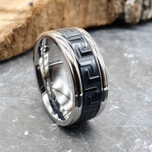 Модное мужское кольцо из медицинской стали Плутон