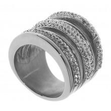 Женское кольцо из стали 1,9 см