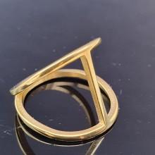 Эксклюзивное стальное кольцо Флирт