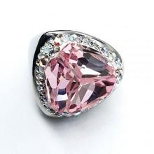 Женские кольца из стали Вставка Кристалл Swarovski купить №2