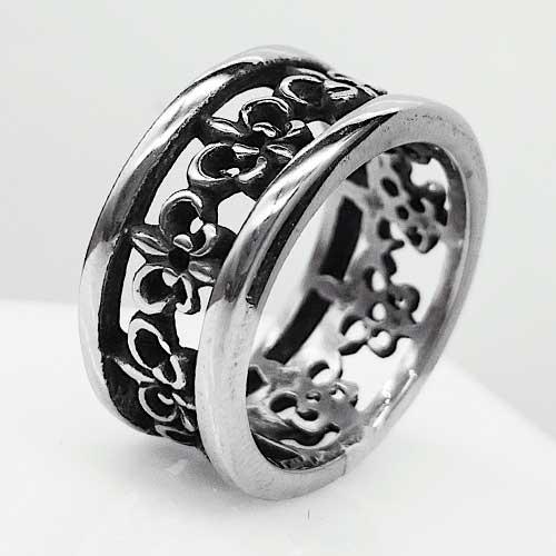 Байкерское кольцо из медицинской стали Ла Рошель