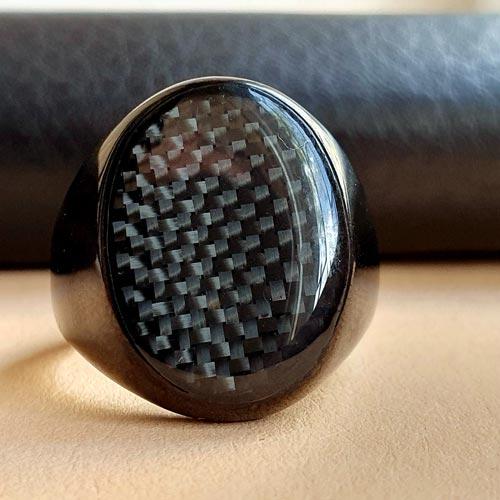Байкерское кольцо-печатка из медицинской стали Оккультист
