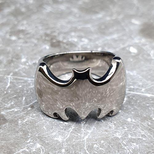 Кольцо из медицинской стали мужское Бэтмен