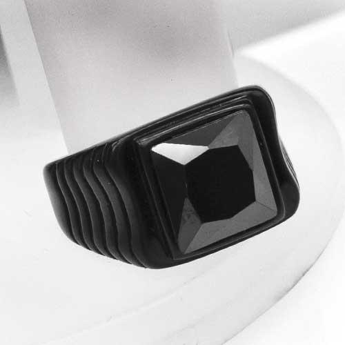 Кольцо-перстень из стали мужское Калиостро