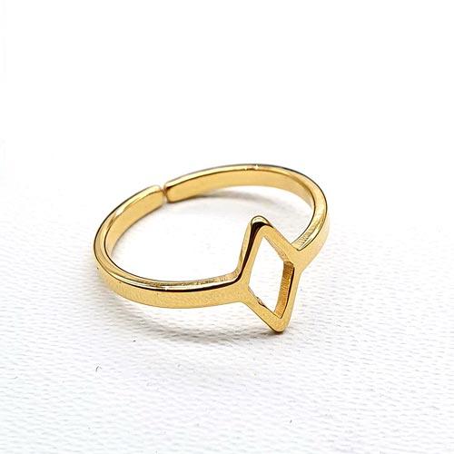 Кольцо из медицинской стали на фалангу Платонида