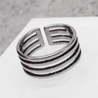 Кольцо из медицинской стали на фалангу женское  Леди Стайл