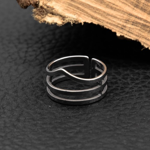 Кольцо из медицинской стали женское Арья