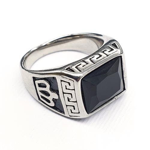 Кольцо-перстень из медицинской стали мужское Заратустра