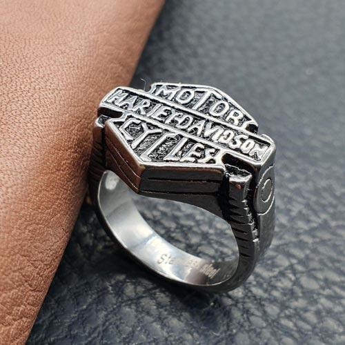 Байкерское кольцо из медицинской стали Вездеход