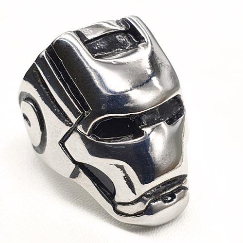 Байкерское стальное кольцо Сталкер