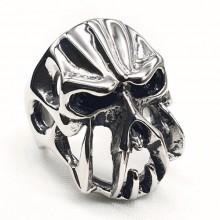 Байкерское кольцо из медицинской стали Череп орка