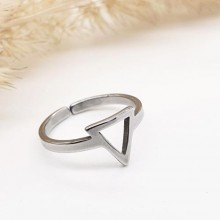 Женское фаланговое кольцо Пирамида