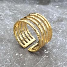 Кольцо из ювелирной стали Илмари