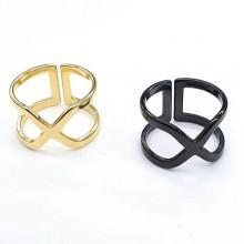 Фаланговое женское кольцо Рене в двух цветах