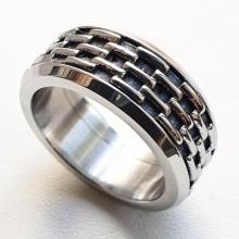 Мужские кольца из стали Тип/Модель украшения Антистресс купить №6