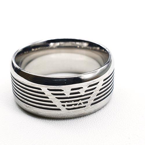 Мужское кольцо из медицинской стали Домнал