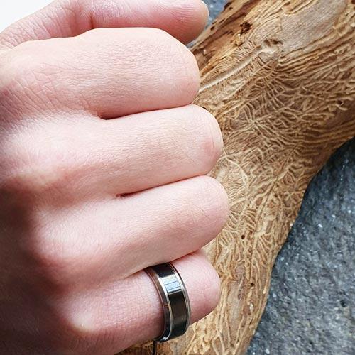Кольцо из медицинской стали Геррке