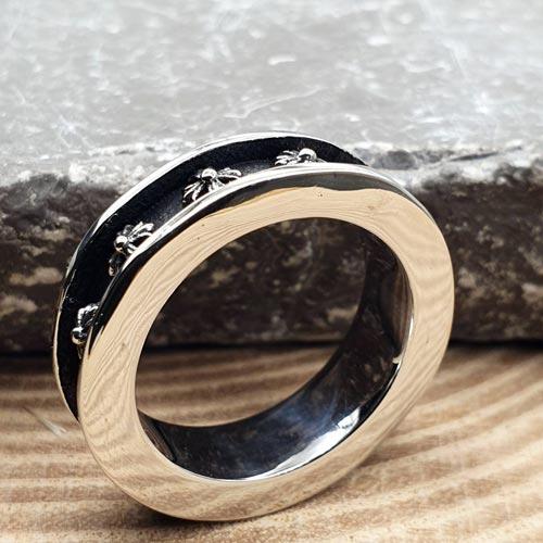 Кольцо из медицинской стали Мидир