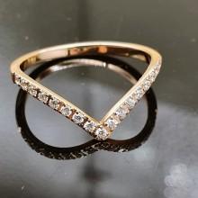 Элегантное женской кольцо из стали Роанна