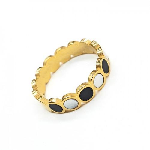 Кольцо из ювелирной стали женское Куртизанка