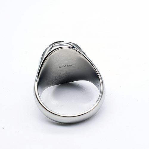 Женское стальное кольцо Кармоди