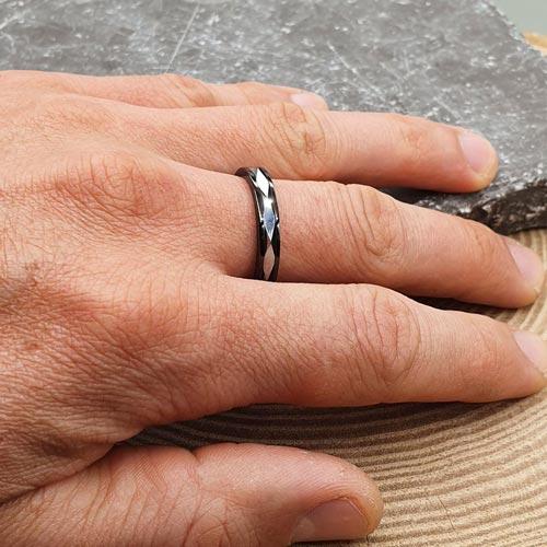 Кольцо из вольфрама Всевластие