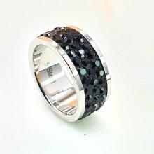 Женские кольца из стали Вставка Кристалл Swarovski купить №12