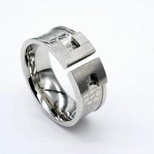 Стильное женское кольцо из медицинской стали Кэйла