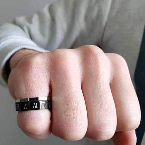 Кольцо из медицинской стали Ильматар