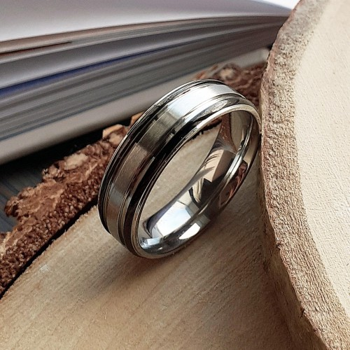 Кольцо из медицинской стали мужское Берсерк