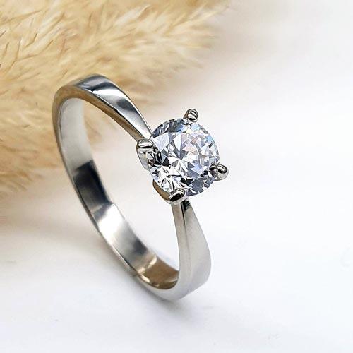 Кольцо для предложения руки и сердца Галатея