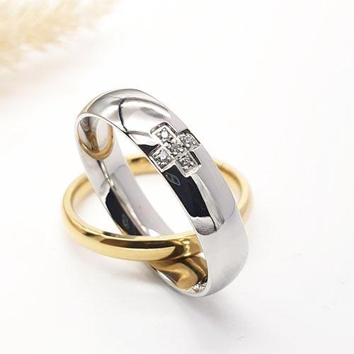 Кольцо металлическое из медицинской стали Гармония