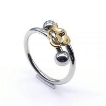 Женские кольца из стали Тип/Модель украшения Двойные купить №23