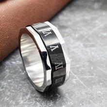 Мужские кольца из стали Тип/Модель украшения Антистресс купить №22
