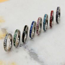 Кольцо сталь для женщин 3 мм