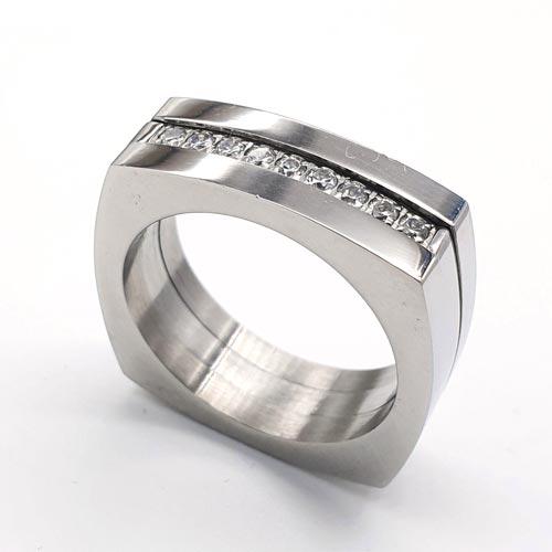 Женское кольцо из стали Даная