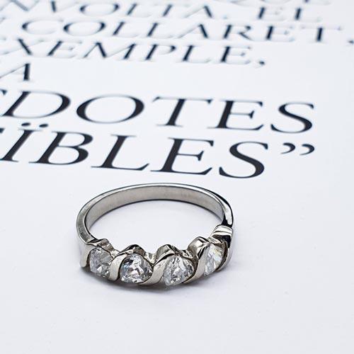 Женское кольцо из стали Феличита