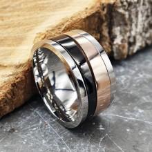 Мужские кольца из стали Тип/Модель украшения Антистресс купить №16