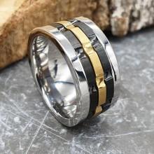 Мужские кольца из стали Тип/Модель украшения Антистресс купить №15