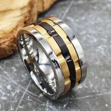 Мужские кольца из стали Тип/Модель украшения Антистресс купить №19