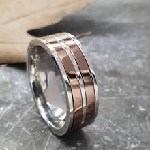 Мужские кольца из стали Тип/Модель украшения Антистресс купить №17