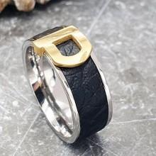 Кольцо стальное унисекс Лучник