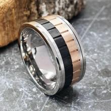 Мужские кольца из стали Тип/Модель украшения Антистресс купить №24