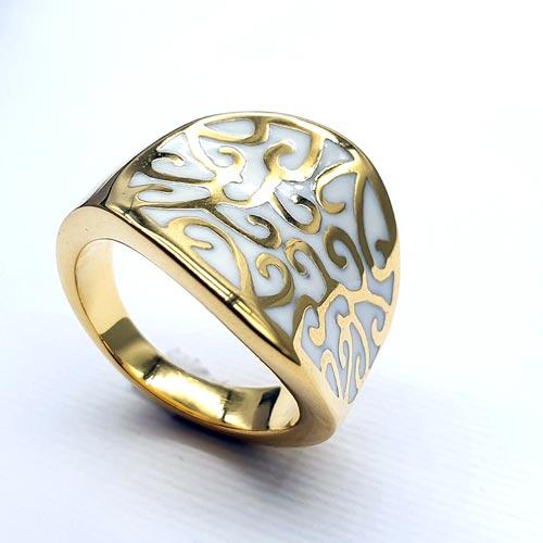 Эмалевое кольцо для женщин Махфирузе