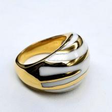 Кольцо эмаль женское Наввара