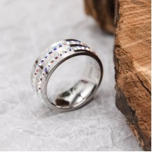 Кольца Swarovski Цвет камня Хамелеон купить №3