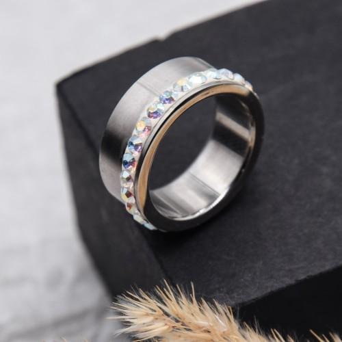 Женское кольцо Swarovski Crystal хамелеон