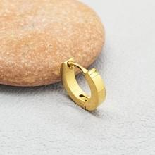 Серьги кольца в хрящ с напылением матовые унисекс из стали 2 мм (1 шт.)