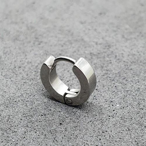Серьги-кольца из медицинской стали унисекс в хрящ 3 мм (1 шт.)