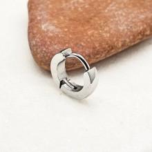 Серьга в хрящ уха сталь округлая унисекс 2 мм (1 шт.)